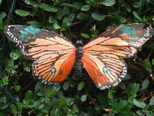 Authentic Large Orange Feather Butterfly -  21cm wingspan