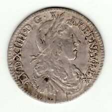 French Colonial,1662 I silver 1/12 ecu of 5 sols