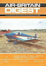 AIR-BRITAIN DIGEST MAY 88: THE JODEL/ N.Z.NOSTALGIA/ FALCON 50/ OZ DC-2 'UIVER'