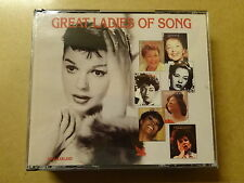 4-DISC CD BOX / GREAT LADIES OF SONG (READER'S DIGEST)