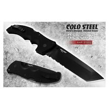 Couteau Cold Steel Recon 1 Serrated Tanto Acier CTS Manche G-10 CS27TLCTH
