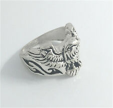 Vintage Woman 316L Stainless Steel Vogue Design Mini Eagle Ring Size 8  NEW !!!!