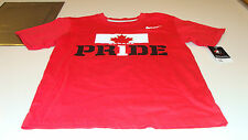 Team Canada 2014 Sochi Olympics XXL Red Team Pride Hockey T Shirt Youth