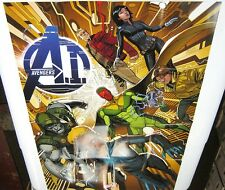 Avengers AI Large Exclusive Promo Poster 24x36 BRAND NEW MARVEL COMICS 2013 NR