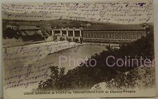 Carte postale - USINE BARRAGE et POSTE de TRANSFORMATION DE CHANCY-POUGNY