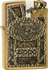 Zippo 29103 steampunk brass Lighter with PIPE INSERT PL