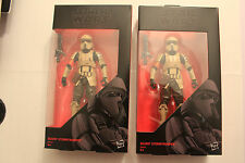 Star Wars The Black Series 2 Scarif Stormtrooper Hasbro 6 inch OVP Army builder