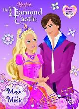 Magic in Music (Deluxe Coloring Book): Barbie and the Diamond Castle by Golden