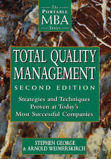 Total Quality Management: Strategies and Techniques Proven at Today's-ExLibrary