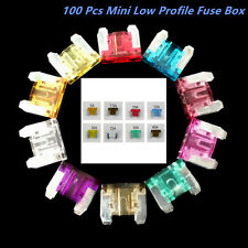 Lot100 Assorted Car Mini Low Profile Fuse Box 5 7.5 10 15 20 25 30 A DIY Sales