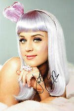 Katy PERRY SIGNED Autograph Photo 12x8 RARE AFTAL COA Sexy Singer