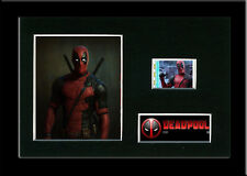 Deadpool -  Framed Replica 35mm Mounted Film cells - Movie Cell - Memorabilia