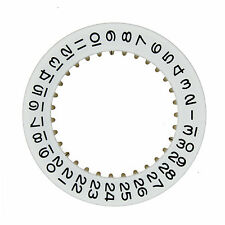 Calendar Date Dial Disc to fit Rolex Caliber 3135 and 3155 White color