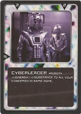 """Doctor Who MMG CCG - Character """"Cyberleader"""" Card"""
