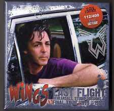 Paul McCartney & Wings Last  Flight 12 CDs & 2 DVDs   Box  Set