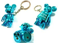 New In Box LeSportsac Toy2R Tokidoki Metallic Qee Key Chain Blue Bear Rare 5615