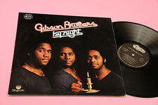 GIBSON BROTHERS LP BY NIGHT ORIG ITALIAN 1977 NM !!!!!!!!!!!!!!!!! GATEFOLD