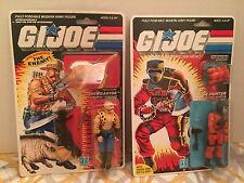 gi joe barbecue 1985 Gnawgahyde Figure Arah Moc Lot Cobra  Duke Dreadnok Zartan