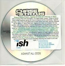 (951D) Chase & Status ft Kano, Against All Odds - DJ CD