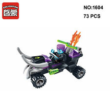 Enlighten 1604 Space Adventure Crazy Motorcycle Figure DIY Building Blocks Toy