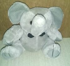 Small Stuffed Elephant with Bowtie Toy Animal Bean Pellets Steven Smith