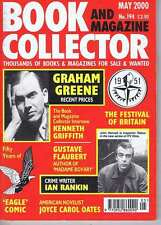 GRAHAM GREENE / IAN RANKIN / EAGLE COMIC Book Collector no. 194 May 2000
