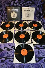 33RPM EX+ LIMITED EDITION BEETHOVEN The Nine Symphonies 7 Record Set LP STEREO