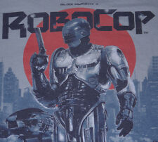 Mens Loot Crate Vintage Look/Feel Gray ROBOCOP Graphic T Shirt size L