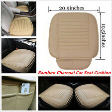 PU Leather Bamboo Charcoal Car Seat Cushion Full Surround Breathable Seat Cover