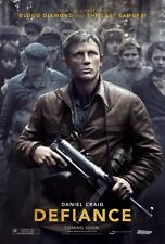 DEFIANCE movie poster (A)  DANIEL CRAIG poster 11 x 17 inches
