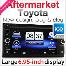 "6.95"" Toyota Car DVD Player GPS Land Cruiser FJ Prado Highlander USB MP3 Sat Nav"