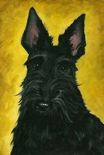 LE #1 4X6 POSTCARD RYTA ALPHA MALE SCOTTISH TERRIER SCOTTY SCOTTIE SCOTLAND DOG
