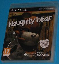 Naughty Bear - Sony Playstation 3 PS3 - PAL