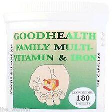 Familia Multi-Vitamin & Iron (6 meses de suministro) publica Gratis