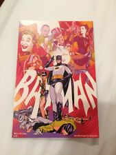 SDCC 2015 Martin Ansin Batman 1966 MONDO Postcard Comic card Handbill
