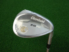 NEW CLEVELAND CG16 SATIN CHROME TZG 58* LOB WEDGE 2 DOT STEEL WEDGE FLEX