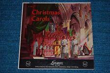 WESTMINSTER ABBEY CHOIR & BACH CHOIR Christmas Carols RARE LONDON LL1095 LP