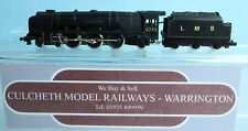 GRAHAM FARISH 'N' GAUGE 1811 LMS BLACK DUCHESS CLASS STEAM LOCO 6242 BOXED #697Y