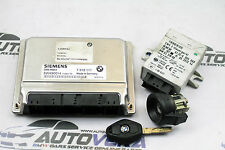 BMW E46 330i 330Ci Unidad De Control Del Motor Dme ECU EWS clave Start Up Kit 7518111