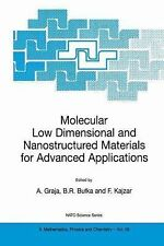 Molecular Low Dimensional and Nanostructured Materials for Advanced...