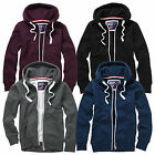 Charles Wilson Men's Premium Heavyweight Cotton Zipped Hoody Hoodie Top 2015