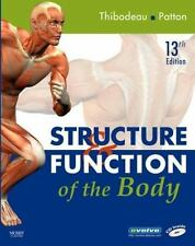 Structure & Function of the Body - Softcover, 13e Thibodeau PhD, Gary A., Patto