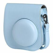 Instax Mini 8 Camera Leather Case Shoulder Bag Cover For Fujifilm Fuji in B
