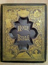 ANTIQUE FAMILY HOLY BIBLE SALESMAN SAMPLE CIRCA LATE 1800s/Early 1900s RARE