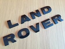 NERO LUCIDO LAND ROVER Lettering FREELANDER DEFENDER DISCOVERY COFANO BOOT