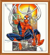 Spiderman 99 cross stitch chart 10.7 x 12.0 pollici