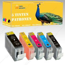 5x Ink cartridges compatible with CANON Pixma MP 600 / MP 600R / MP 610