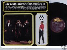 "TEMPTATIONS~""Sings SMOKEY""~ORIGINAL 1965 GORDY G-912  ""EXCELLENT""~LP!!!"