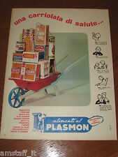 *=ALIMENTI BISCOTTI PLASMON=1961=PUBBLICITA'=ADVERTISING=WERBUNG=PUBLICITE=