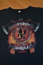 2009 Gathering Of The Juggalos T Shirt ICP Large Insane Clown Posse Cave In Rock